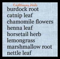Conditioning Herbs