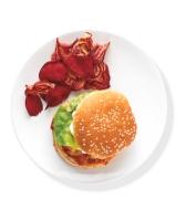 Horseradish Salmon Burger