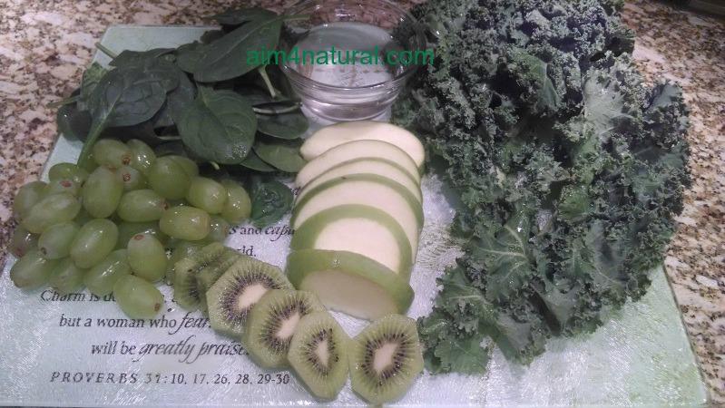 Green smoothie_ing