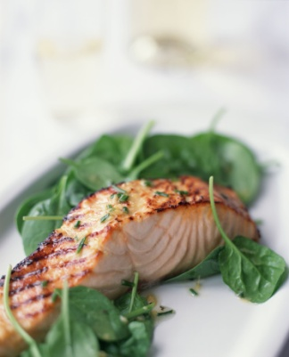 Aim 4 Natural Salmon and spinach