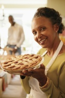 Aim 4 Natural Woman Holding Apple Pie