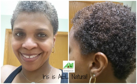 Aim 4 Natural Iris is all natural