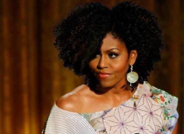 Aim 4 Natural Michelle Obama w/Natural Hair